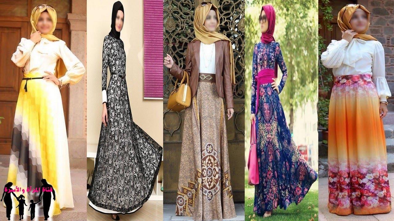 صورة فساتين تركية للمحجبات , اروع فستان تركي للمحجبين