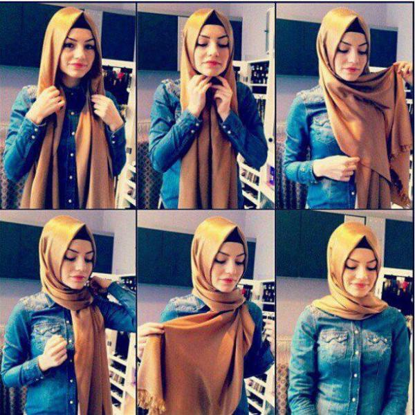 بالصور صور لفات حجاب , صور اشيك لفات الحجاب 2741 5