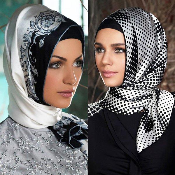 بالصور صور لفات حجاب , صور اشيك لفات الحجاب 2741 6