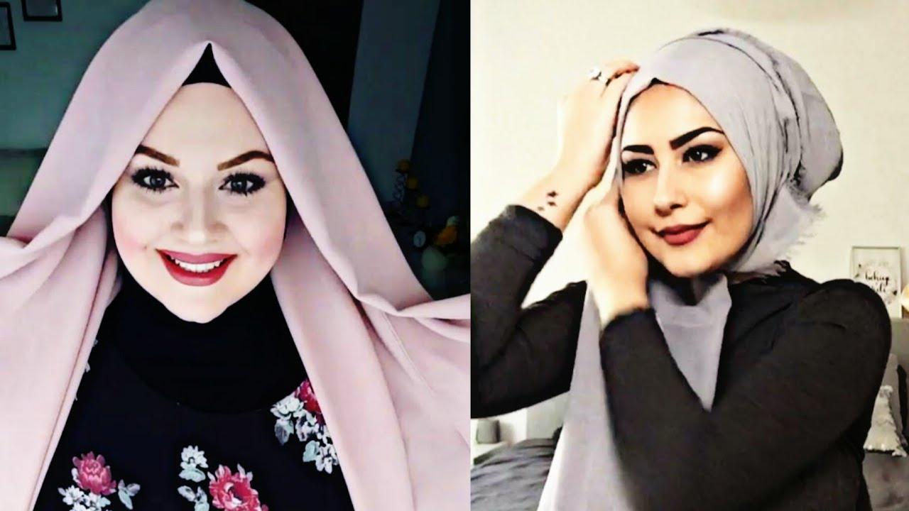 بالصور صور لفات حجاب , صور اشيك لفات الحجاب 2741 7
