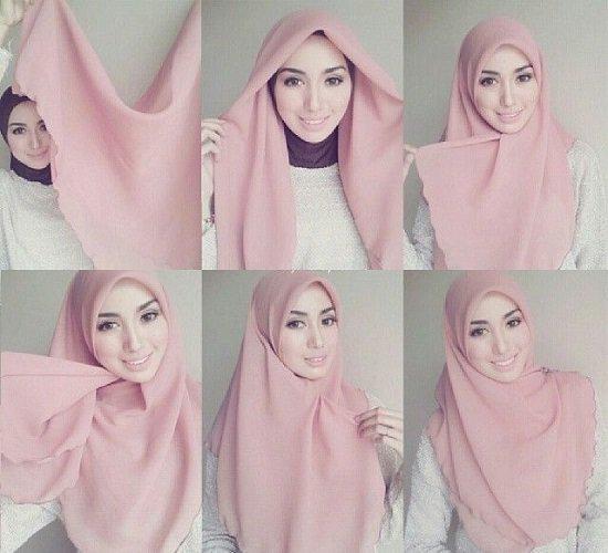بالصور صور لفات حجاب , صور اشيك لفات الحجاب 2741 8