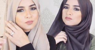 طرق لف الحجاب , احدث موضة في لف الحجاب