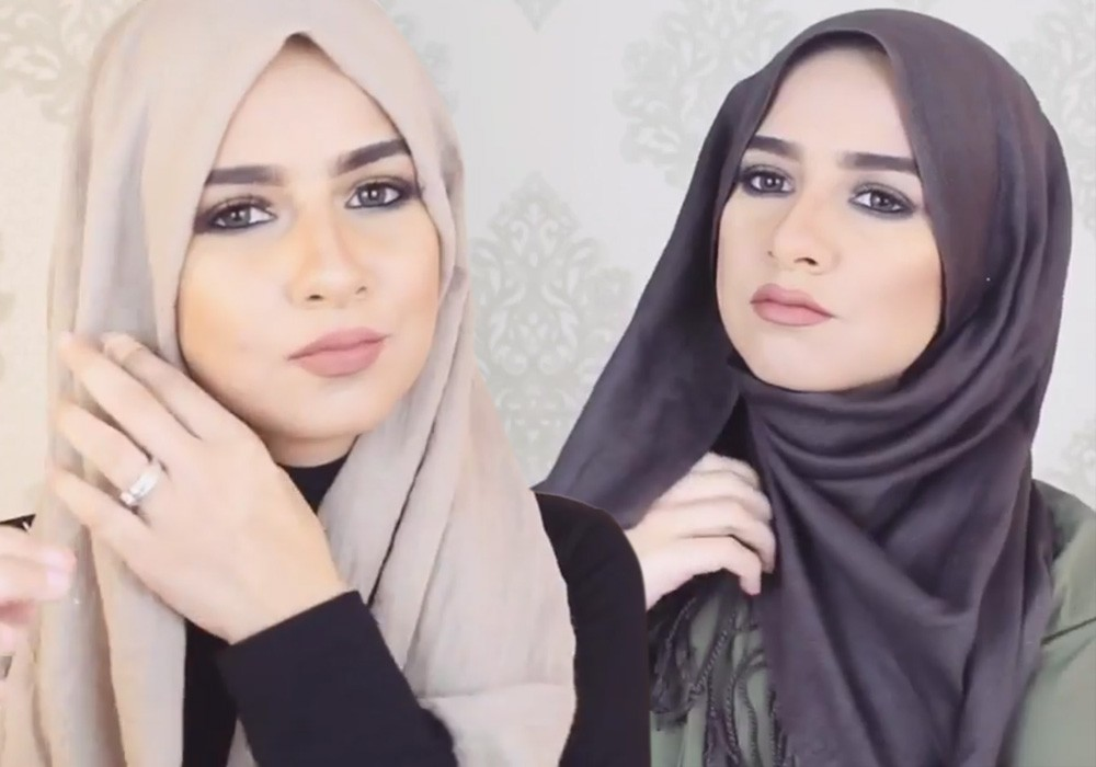 صورة طرق لف الحجاب , احدث موضة في لف الحجاب