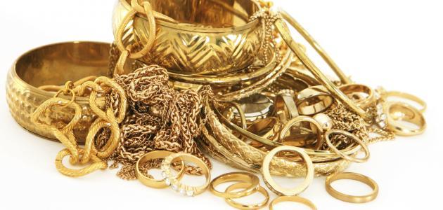 صورة تفسير حلم الذهب , ماهو التفسير للحلم بالذهب