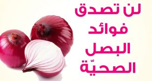 فوائد البصل , ماهى فوائد البصل للجسم