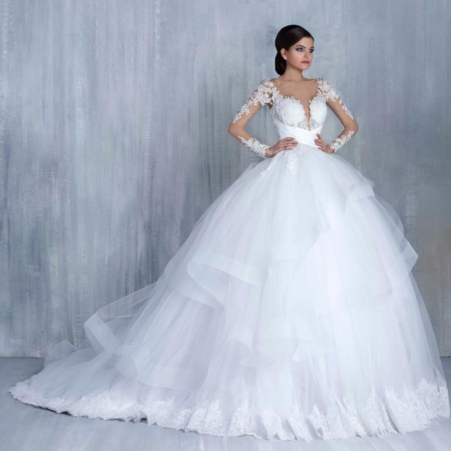 صورة صور فساتين عرس , اجمل الصور لفساتين الزفاف