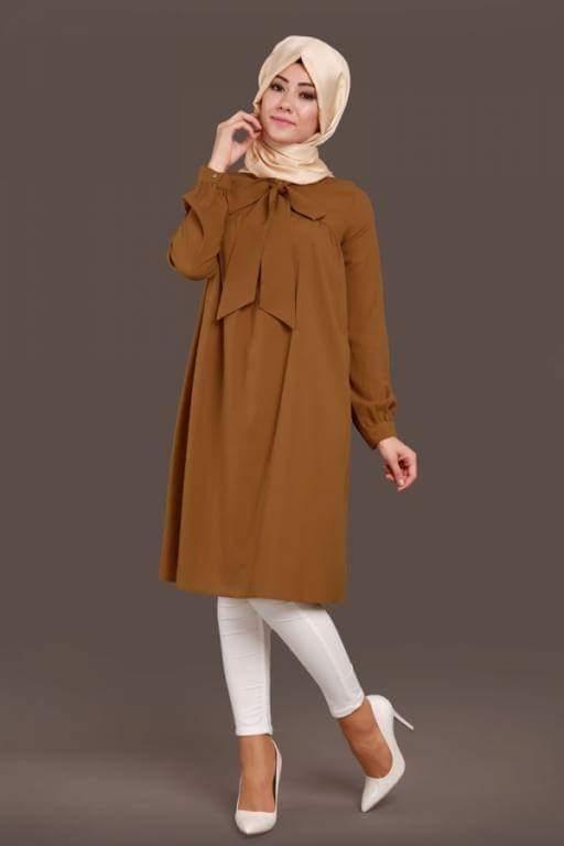 بالصور تونيكات محجبات , بالصور اجمل الملابس للمحجبات 3404 4