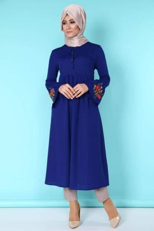 بالصور تونيكات محجبات , بالصور اجمل الملابس للمحجبات 3404 5