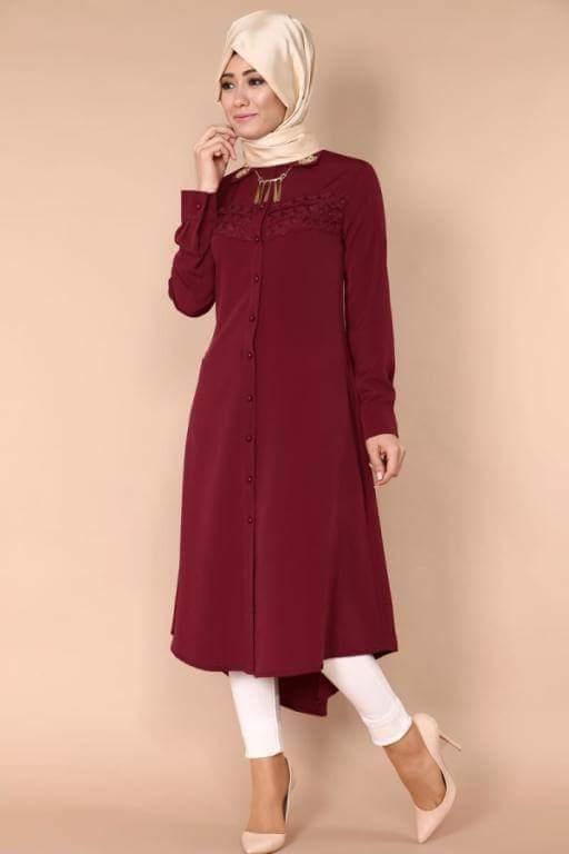 بالصور تونيكات محجبات , بالصور اجمل الملابس للمحجبات 3404 8