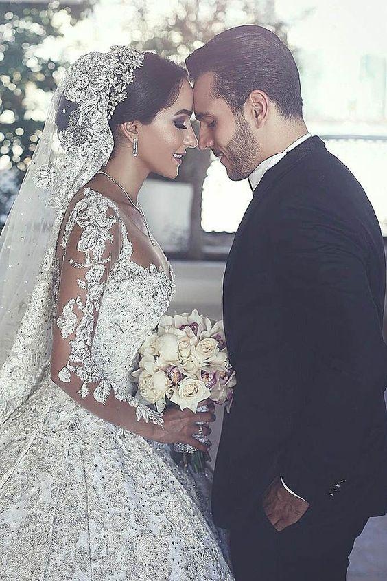 بالصور اجمل صور عرسان , صور اجمل عروسين 3446 4
