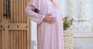 صورة ملابس للحوامل المحجبات , احدث المودلات لحوامل