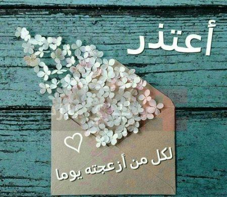 صورة رسالة اعتذار , مسجات اعتذار للحبيب 3725 7