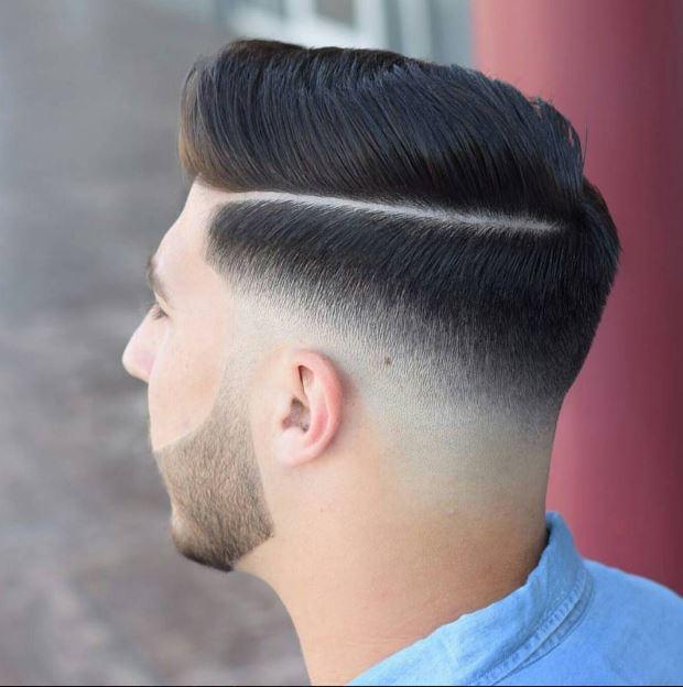 بالصور احدث قصات الشعر للشباب , قصات رجالية حديثة 3760 8