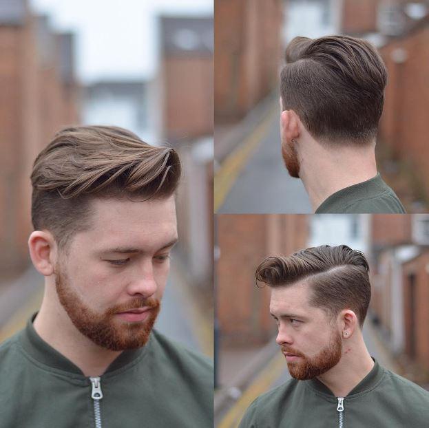 بالصور احدث قصات الشعر للشباب , قصات رجالية حديثة 3760 9