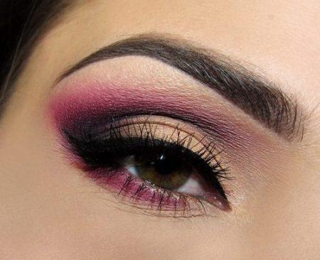 صورة مكياج عيون لبناني , ميك اب رقيق للعيون