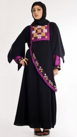 صورة عبايات مصرية , عبايات جميلة للمحجبات