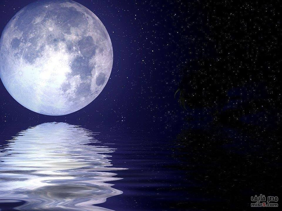 صور كرتون للقمر