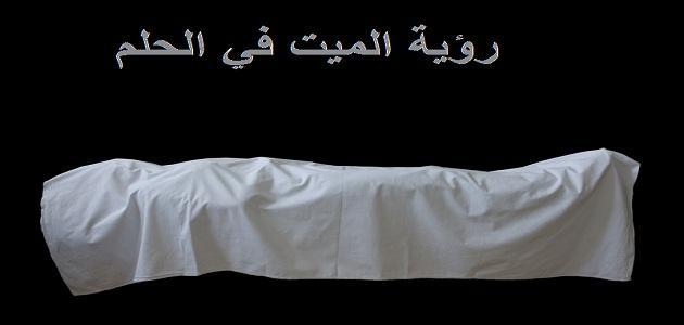 بالصور رؤية شخص ميت في المنام , ماهو تفسير الحلم بالمتوفى 1071