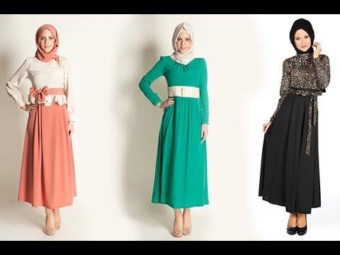 صورة لباس المحجبات , ازياء مختلفة للمحجبة