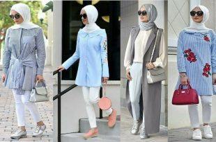 صورة ملابس تركية للمحجبات , اجمل الازياء التركية للمحجبات