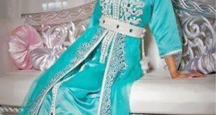 صورة قفطان تونسي , اجمل الملابس هو القفطان التونسي