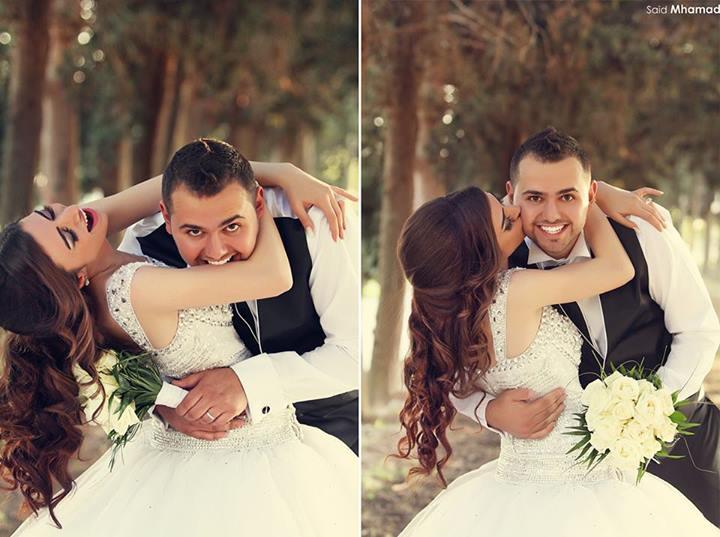 بالصور اجمل لقطات الصور للعرسان , لقطات رائعه فى حفل زفاف للعرسان 1643 5