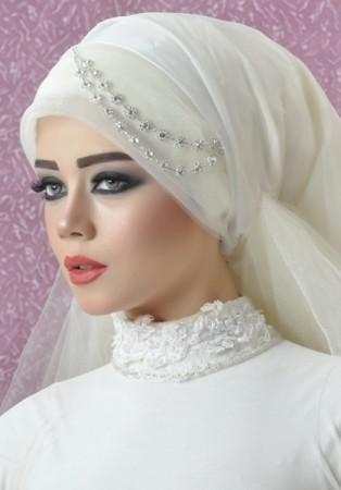 بالصور صور عرايس محجبات اجمل صورة لاجمل عروسة محجبه روعه 1670 4