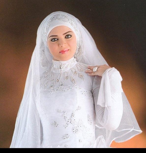 بالصور صور عرايس محجبات اجمل صورة لاجمل عروسة محجبه روعه 1670 6