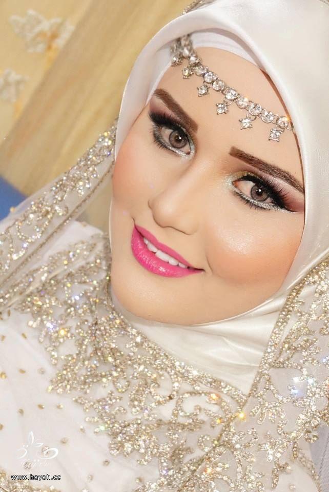 بالصور صور عرايس محجبات اجمل صورة لاجمل عروسة محجبه روعه 1670 7