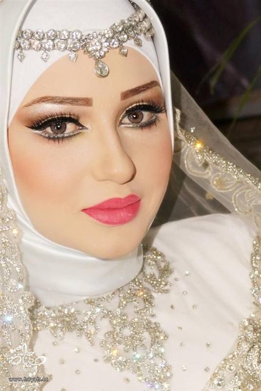 بالصور صور عرايس محجبات اجمل صورة لاجمل عروسة محجبه روعه 1670 8