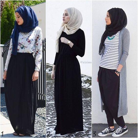 بالصور تنسيق الملابس للمحجبات , توافق احدث المودلات للملابس المحجبات 1697 5