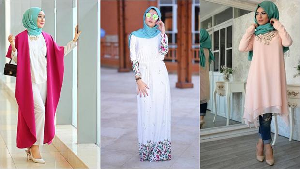 صور تنسيق الملابس للمحجبات , توافق احدث المودلات للملابس المحجبات