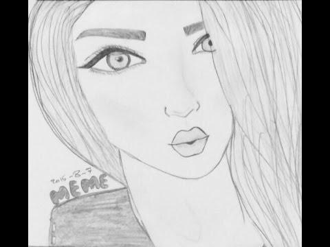 رسومات بنات سهله اروع رسومات البنات 2020 حبيبي
