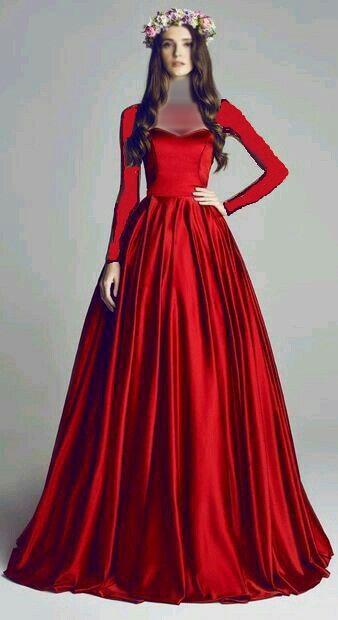 صورة موديلات فساتين مخمل , اجمل فستان مخمل للسهرة 2308 18