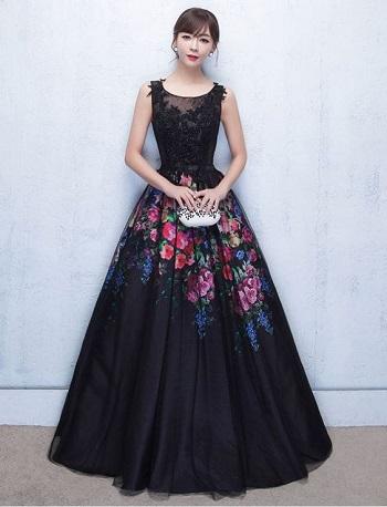صورة موديلات فساتين مخمل , اجمل فستان مخمل للسهرة 2308 19