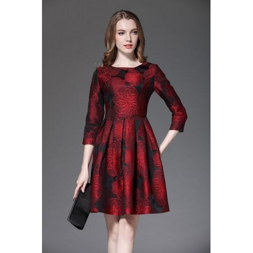 صورة موديلات فساتين مخمل , اجمل فستان مخمل للسهرة 2308 20
