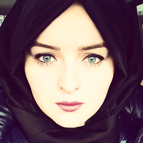 صور اجمل بنات محجبات بدون مكياج , اجمل صورة بنت محجبة