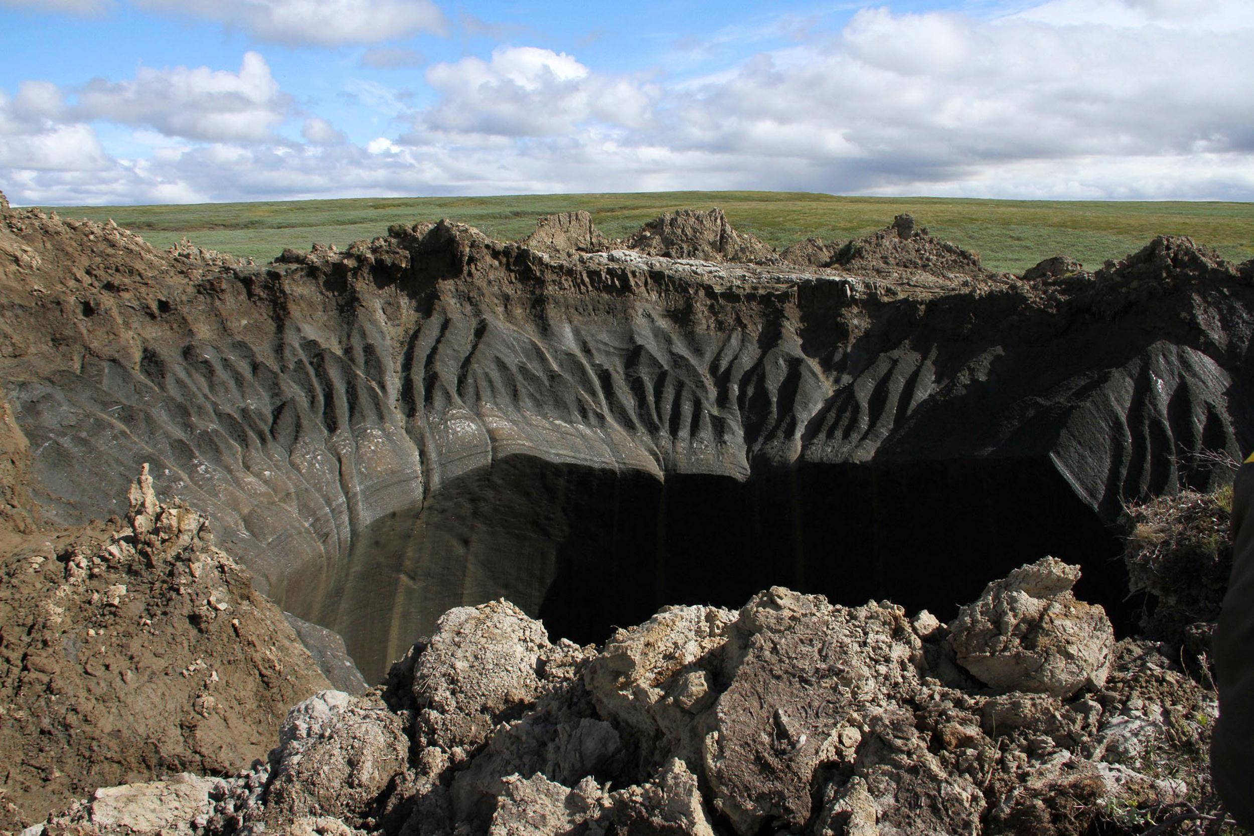 صوره حفرة نهاية العالم , ماهو لغز حفرة نهاية العالم