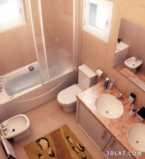بالصور ديكورات حمامات بسيطة , احدث الصيحات فى ديكور الحمام 2549 4