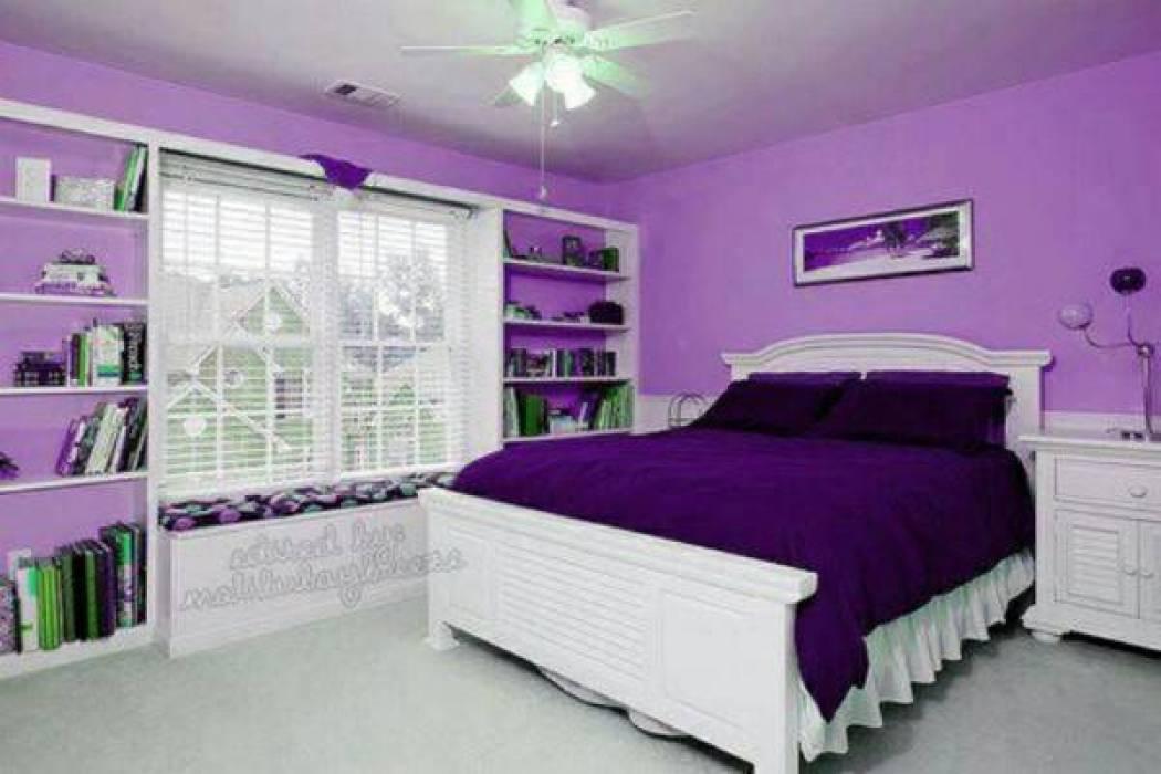 بالصور الوان غرف النوم , احدث الديكورات لغرفة النوم للعرايس 2557 10