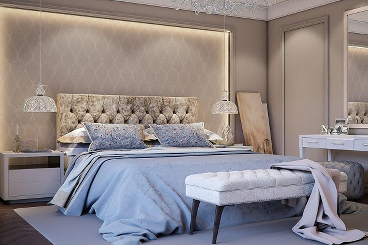 بالصور الوان غرف النوم , احدث الديكورات لغرفة النوم للعرايس 2557 11