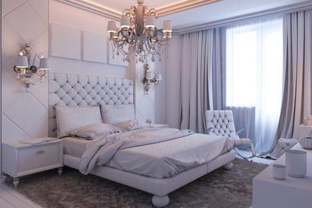 بالصور الوان غرف النوم , احدث الديكورات لغرفة النوم للعرايس 2557 12