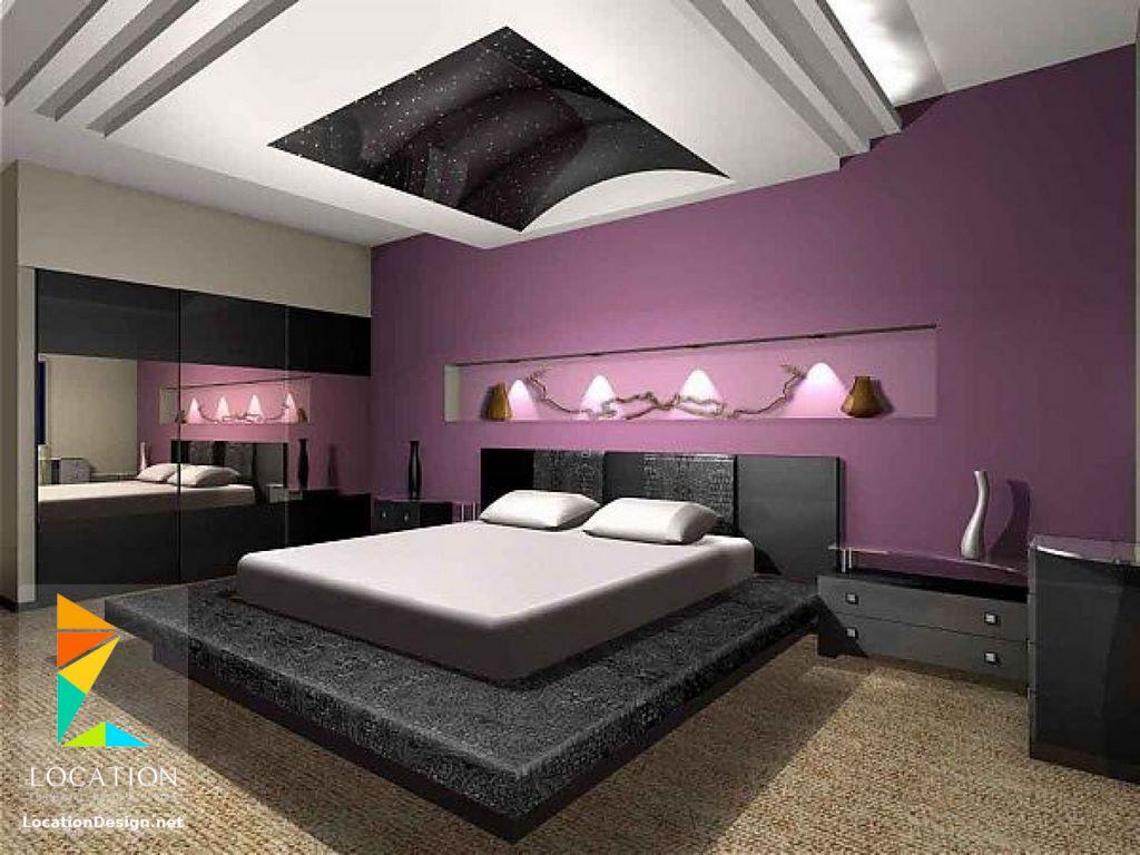 بالصور الوان غرف النوم , احدث الديكورات لغرفة النوم للعرايس 2557 2