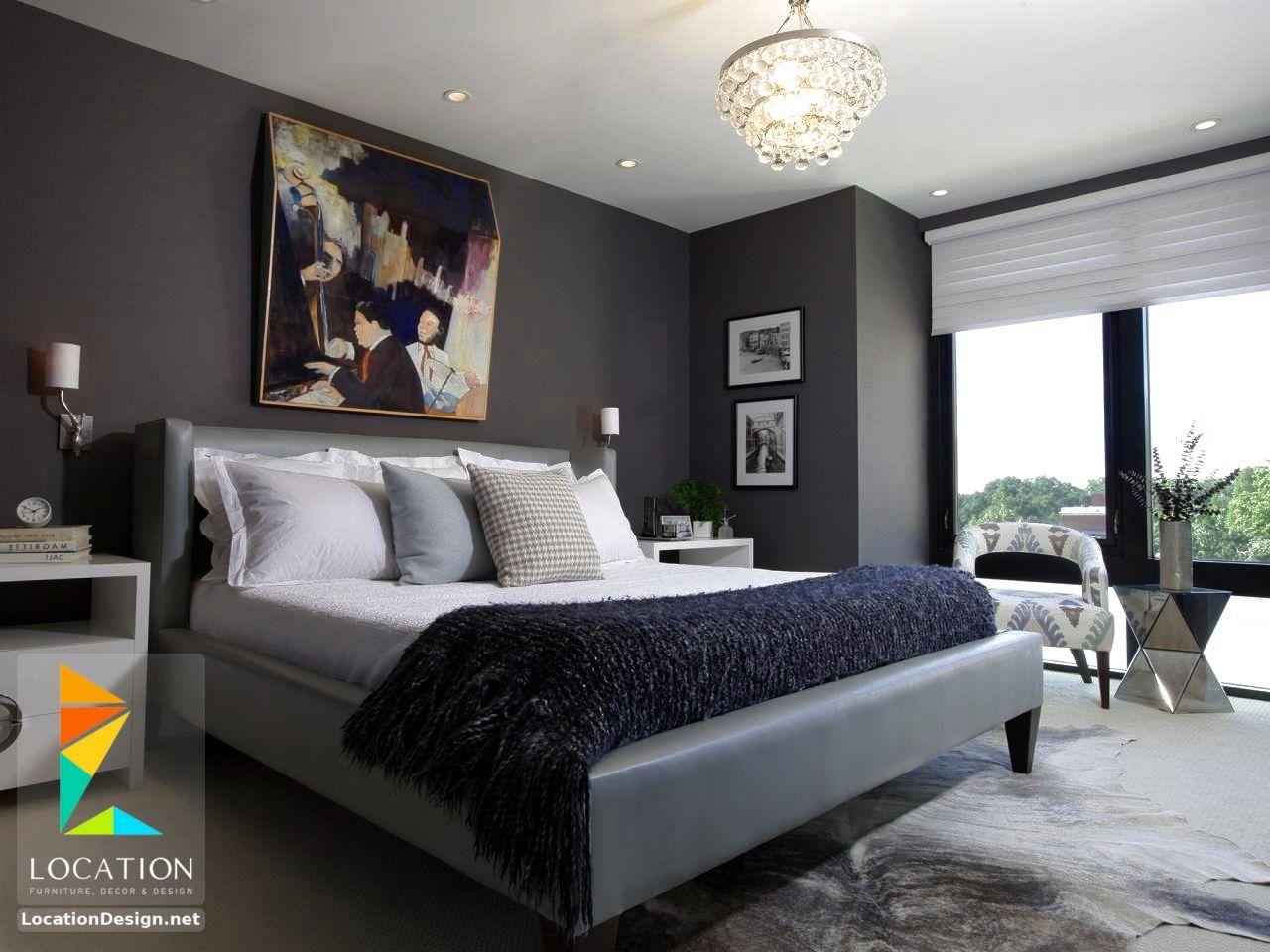 بالصور الوان غرف النوم , احدث الديكورات لغرفة النوم للعرايس 2557 3