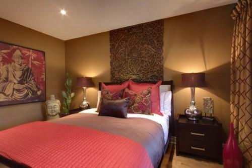 بالصور الوان غرف النوم , احدث الديكورات لغرفة النوم للعرايس 2557 4