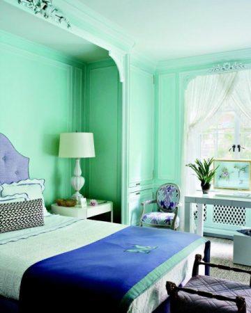 بالصور الوان غرف النوم , احدث الديكورات لغرفة النوم للعرايس 2557 7