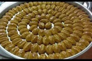 صوره حلويات جزائرية بسيطة بالصور , صور الحلوى الجزائرية المميزة