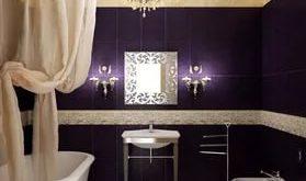 صوره تصاميم حمامات , تصميم حديث للحمام العصرى