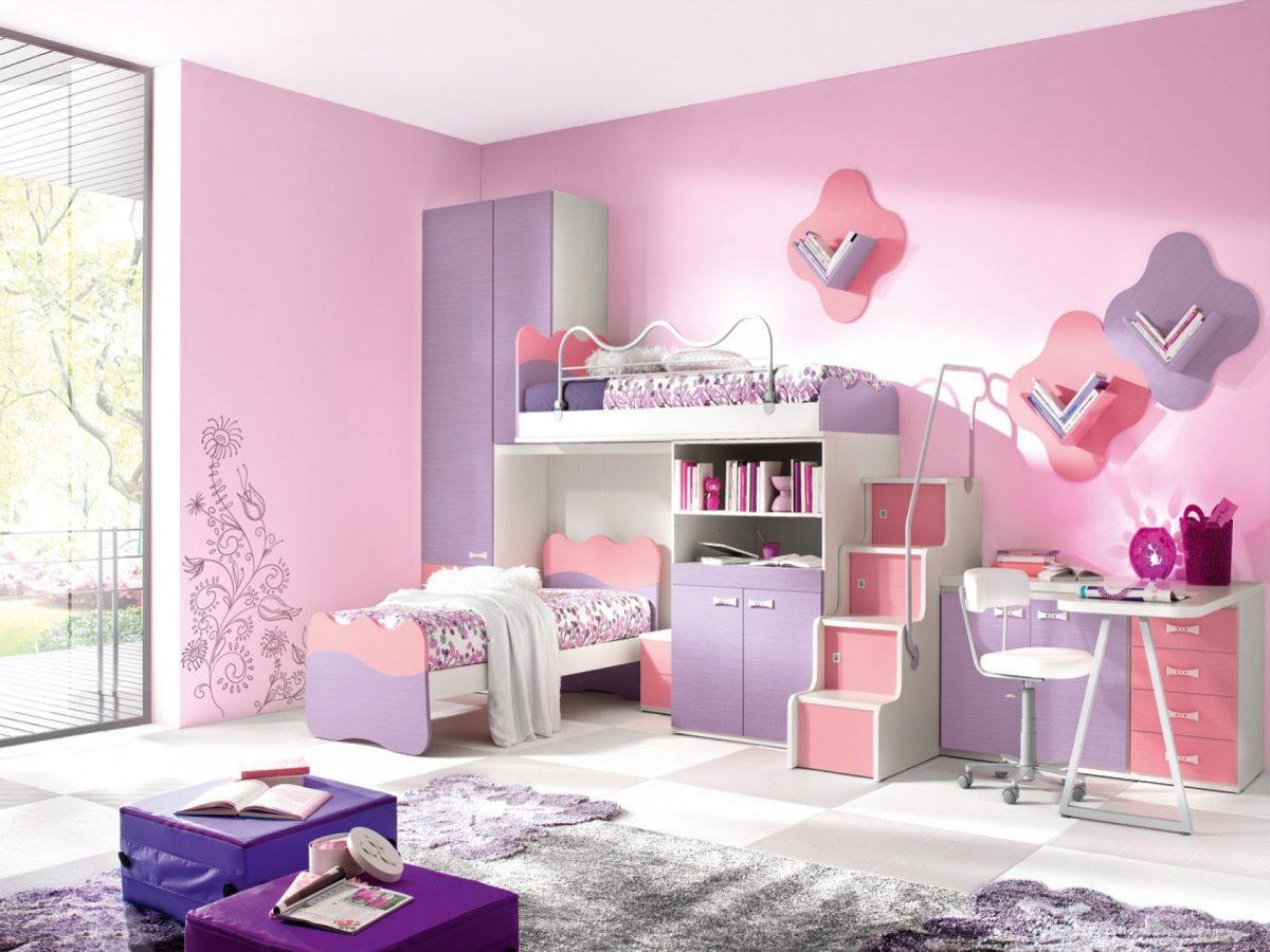 صور ديكور غرف نوم بنات , احدث صيحات الديكور لغرفة نوم بنت