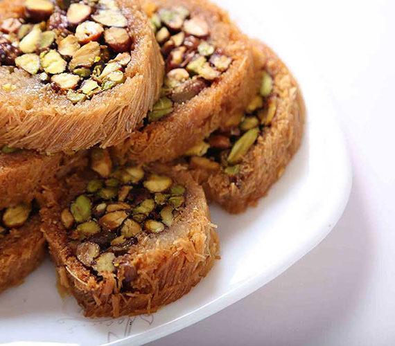 صورة حلويات عربية , اجمل اطباق الحلويات الشرقيه 3660 4